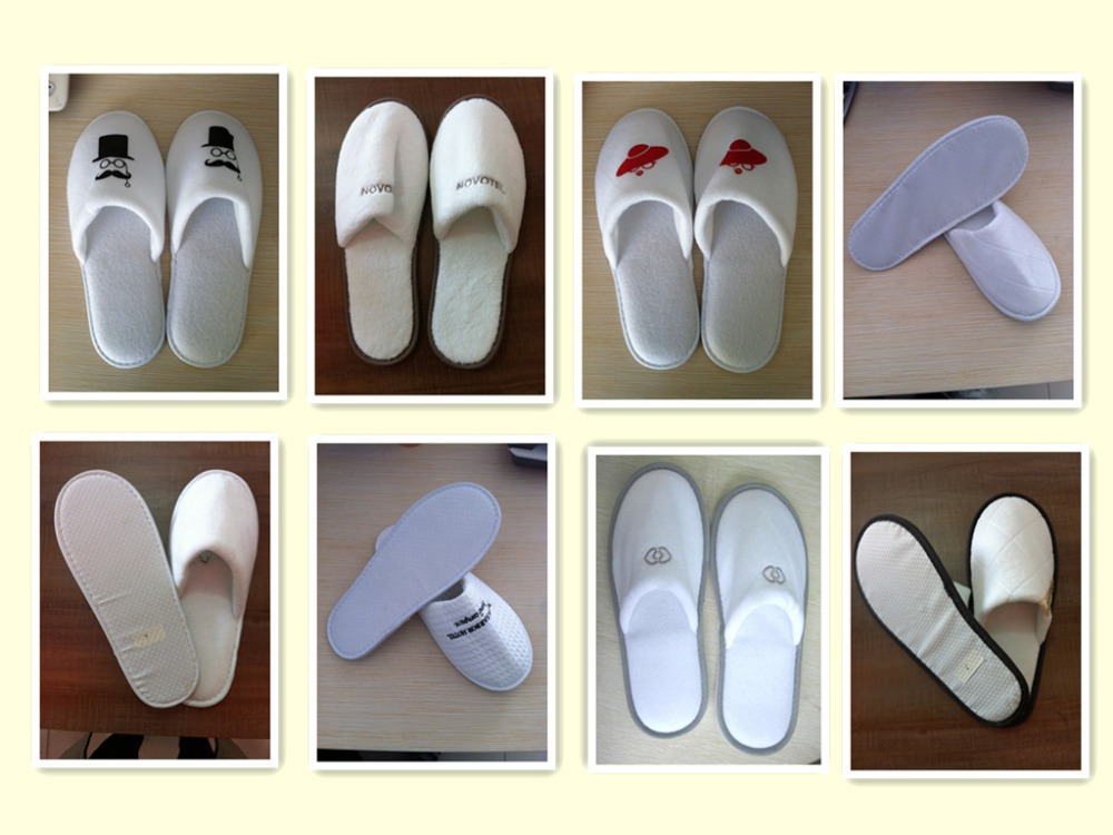 eco-friendly comfortableEVA Foam hotel slipper / disposable white hotel slipper
