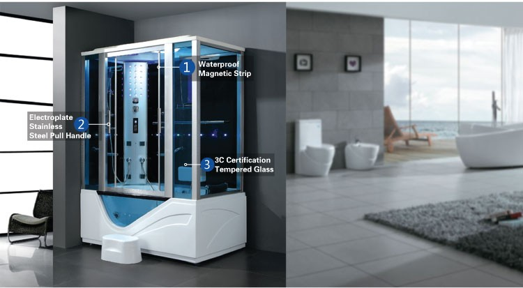 K-7040A Chinese Supplier Micro Bubble Spa Enclosed Massage Room