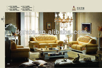 2013 new leisure genuine sofa sets in genuine leather,jade and solid wood to be finsihed for living room furniture suite
