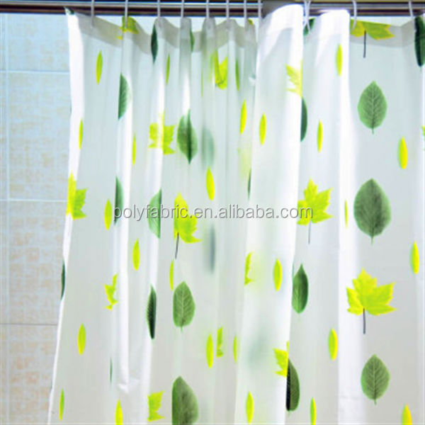 100 Polyester Pongee Lining Fabric for Shower Curtain