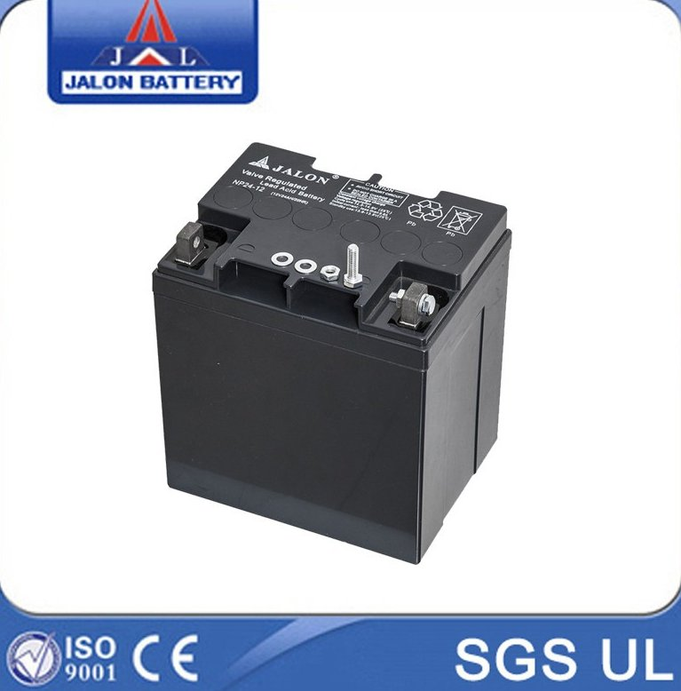 12v24ah UPS battery and 24v solar battery