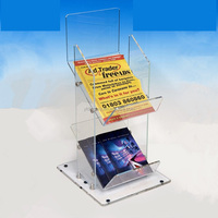 Large Acrylic High Transparency Magazine , Book Holder