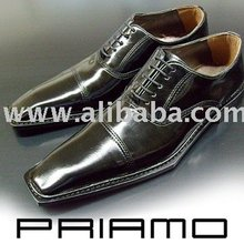 PRIAMO Italy / PR000115NE Leather Men Dress Shoes