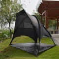 Portable Black Waterproof Sunscreen Fishing Shelter Tent
