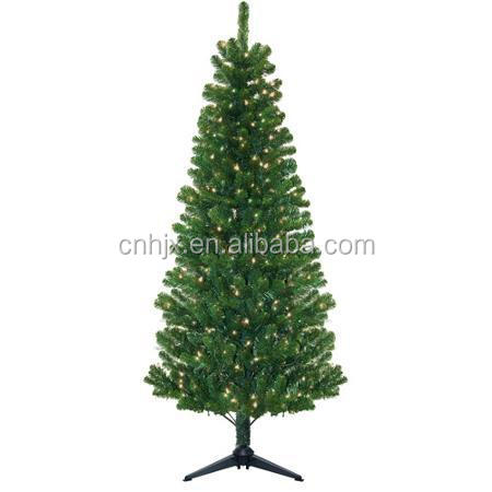 2015 New Style PVC Artificial Christmas Tree, LED Light Christmas Tree