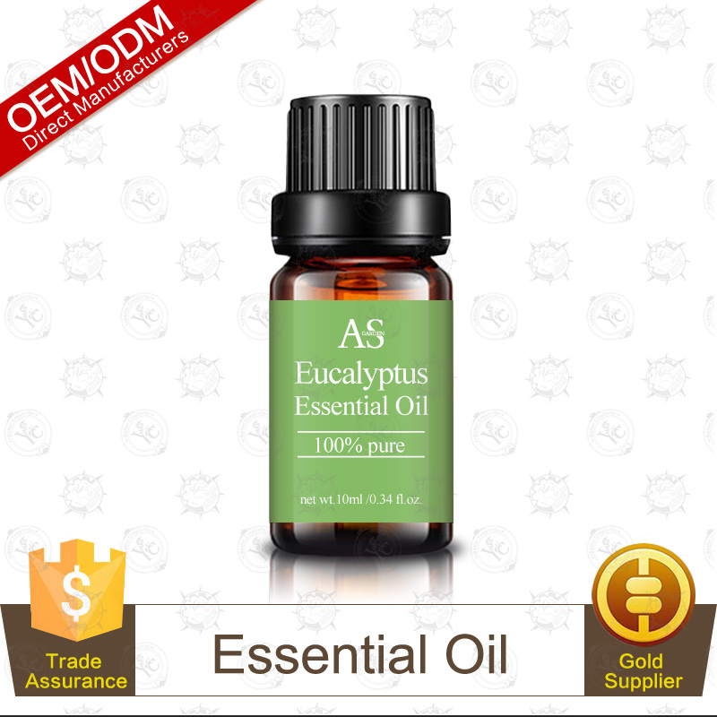 100% Pure and Natural Eucalyptus Essential Oil for Relaxation, Personal Care and Household Use 10ml Private Label