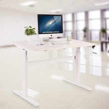 Inexpensive Office Electric Auto Motorized Computer Standing Sitting Height Adjustable Desk/Desktop/Table Legs/Frame Workstation