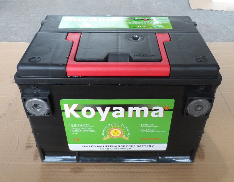 75-60 12v60ah Maintenance Free Inverter Hankook Car Battery
