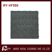 Outdoor Plastic Interlocking mat For Basketball/Tennis Court