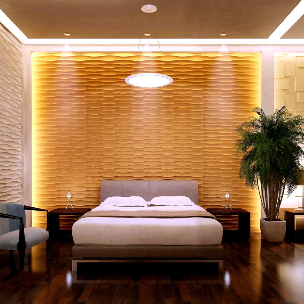 Korean style nonwoven wallpaper home decoration 3d with cheap price