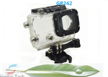 OEM&ODM GoPro Accessoires Professional 30M Waterproof LCD Version Camera Housing Case for GoPro 3 With Back Door