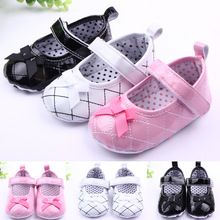 FC7179 pu shining sequins cute princess baby shoes breathable fashion toddler shoes with bowknot