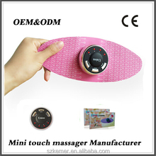 Electronic weight loss patches the mini handheld butterfly type massage equipment
