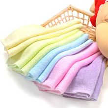 100% Natural Organic Soft Bamboo Washcloths 10&quot;<strong>x10</strong>&quot; Baby Face Towel 6 Pack