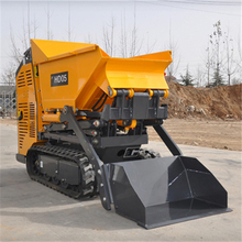 Mini All Terrian Self-Loading Tracked Hydraulic Dumper With Diesel Engine