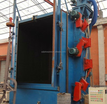 Hanger Hook Type Steel Structural Shot Blasting Machine