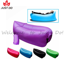 Colorful Outdoor Travelling Camping Fast Inflatable Air Sleeping Bag