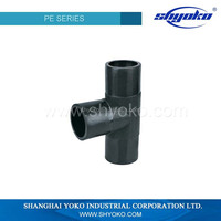 factory price high quality PE pipe fitting Plastic Tubes industrial sewage treatment plant