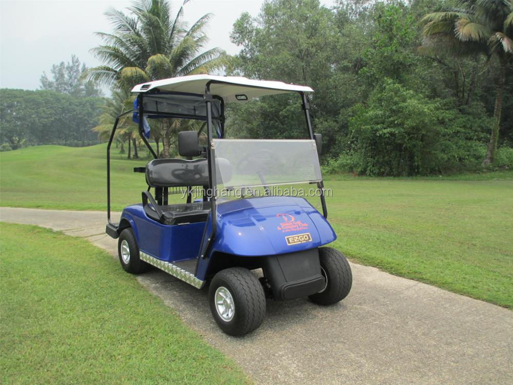 2 seat electric rechargeable mini golf cart for golf club