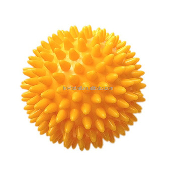 Physical therapy equipment spiky ball