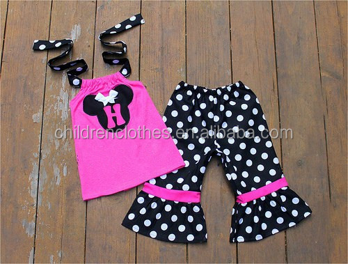 child model top 100 mommy and me cute baby clothing set cartoon pattern girls outfits