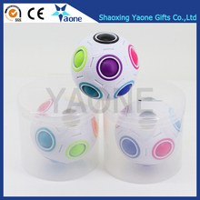 Advertising adults toy magic release anxiety attention stress intellect cube rainbow ball