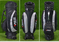 China cheap stand golf bags with wheels