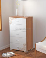 Fashion living room and bedroom wooden chest of drawers
