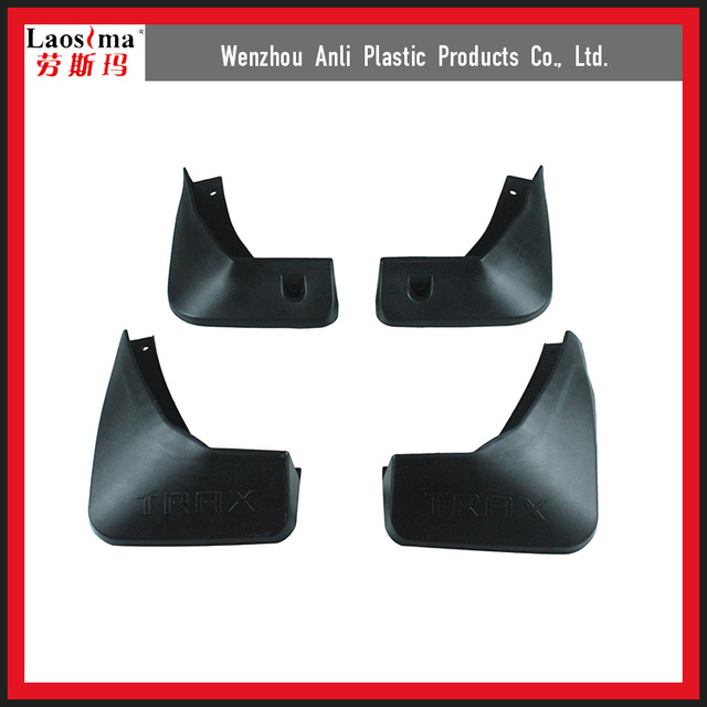 Factory direct supply Aftermarket Car Accessories PP materials mudguard for Chevrolet Trax