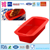 Custom Printed Large Silicone Bread Baking Mould Case,Cake Oven Bakeware