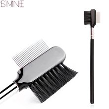 wholesale Professional Eyelash Extension Eyebrow Metal Dual Comb