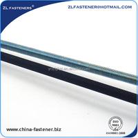DIN 975, DIN976 Zinc plated steel Thread Rod
