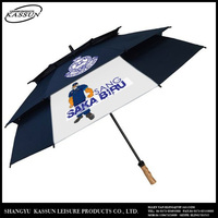 Durable profession made various colour personalized golf umbrella