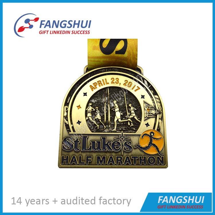 High polishing Competitive price cheap gold medals promotional gold commemorative medal