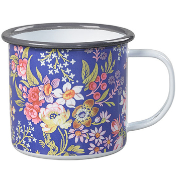good quality wholesales tableware 5mm customized full printing Enamel Mug