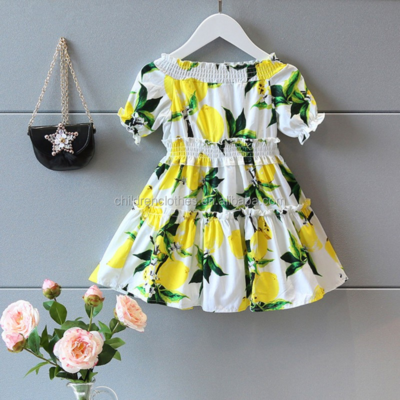 Dress Up Costumes Girl Lemon Clothes Little Girl Clothes Baby Frock Design Pictures