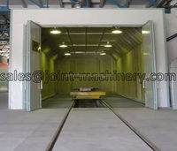 xdl series sandblasting room design and produced by kaitai