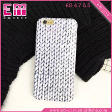 Knitting Pattern Soft TPU Fashion Phone Cases For iPhone 6 6 Plus