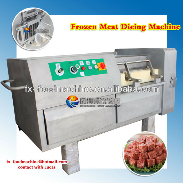 new model beef/chicken/meat dicing machine