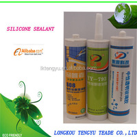 Easy extrusion,fast cure,the acid silicone sealant for glass