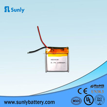 Rechargeable Lipo Battery 3.7v 180mAh Lithium Polymer Battery 402030 for Bluetooth Headset