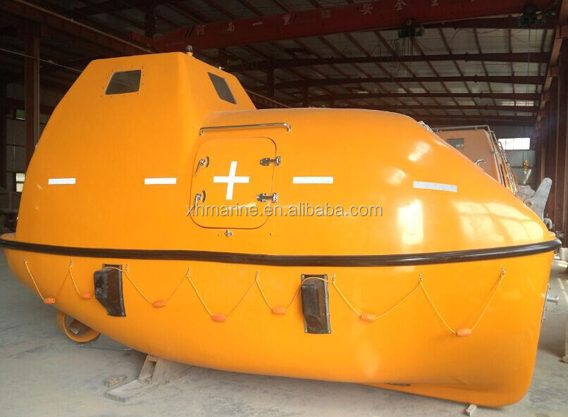 Frp Totally Enclosed Lifeboat/rescue Boat With Solas Approved ...