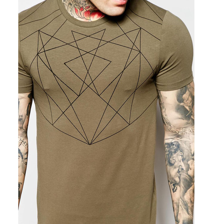 96 cotton 4 elastane man skin tight short sleeve t shirt for Cotton and elastane t shirts