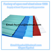 three layer UPVC roofing sheet,polycarbonate sheet