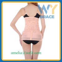 Waist Diet Body Slim Slimming Shape Postpartum Recovery corset Belt support WY-S009
