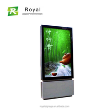 55 Inches Floor Stand Outdoor Digital Signage, Digital Signage Stand