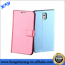 Smooth Skin Classic Style PU Leather Phone Case For Samsung Galaxy Note 3.