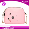 metal chian make up lady fashion messenger bag,sling bag