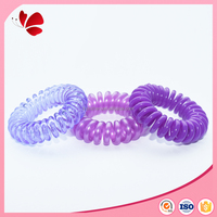 Original manufacturer plain hair band nickel free hair styling products long elastic hair bands
