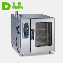 10 tray gas combi oven and pizza combi steamer,stainless steel commercial gas oven machine